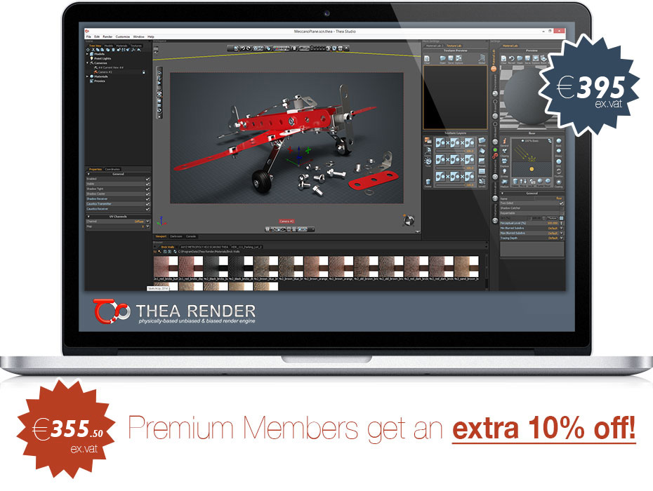 Thea Render for SketchUp discount