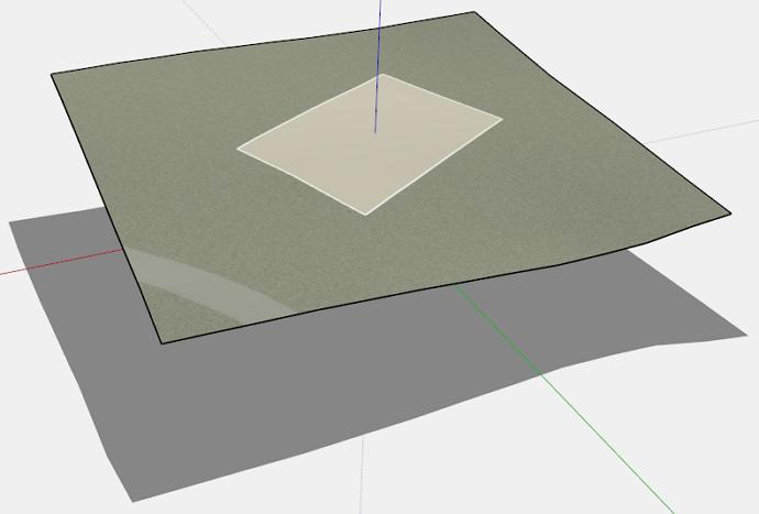 preparing terrain in SketchUp