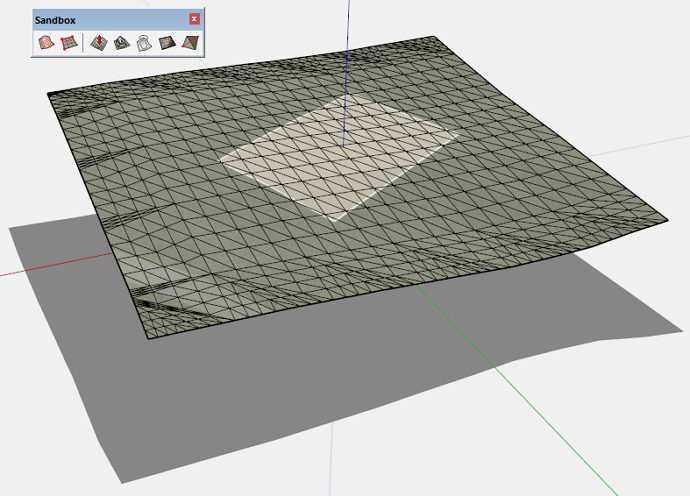 Using Add Detail to add detail to terrain in SketchUp