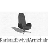Image for Karlstad Swivel Armchair