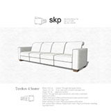 Image for Torekov 4 Seater