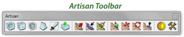 artisan toolbar