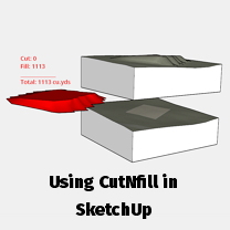 Using CutNFill for SketchUp