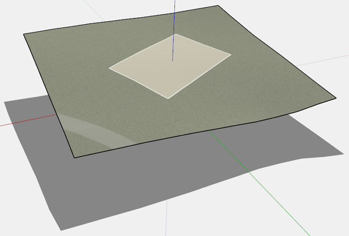preparing terrain in SketchUp