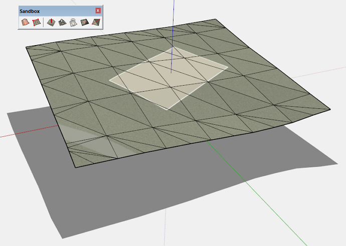 adding detail to terrain in SketchUp