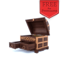 Image for Antique style jewelry box