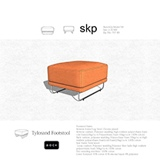Image for Tylosand Footstool